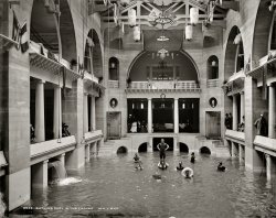 Bathing in the Casino: 1889