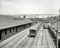 Poughkeepsie Station: 1890s