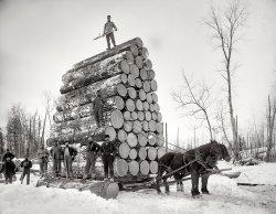 A Big Load: 1890s