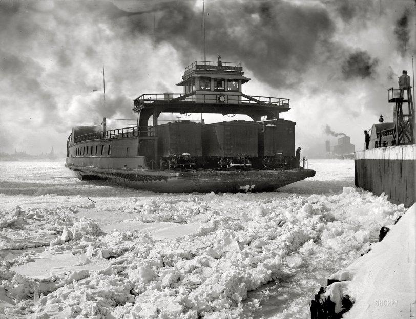 Winter Crossing: 1900