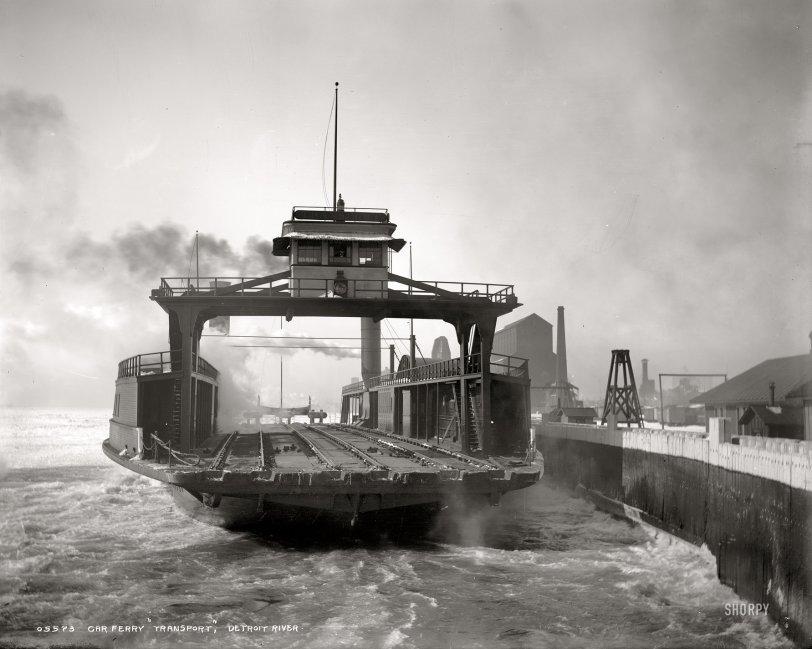 Detroit River: 1900
