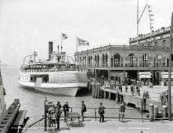 Belle Isle Ferry: 1905
