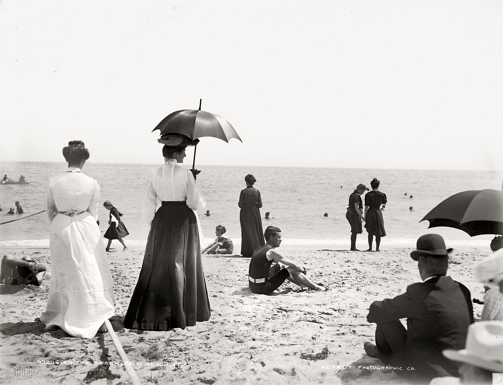 Shorpy Historic Picture Archive Palm Beach 1905 High Resolution Photo