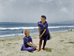 Beached (colorized): 1905