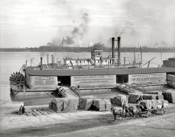 Boats Leave Daily: 1905