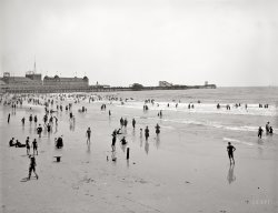 On the Beach: 1906