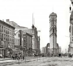 Longacre Square: 1904
