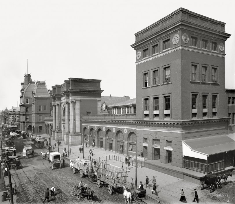 North Terminal Station: 1890s