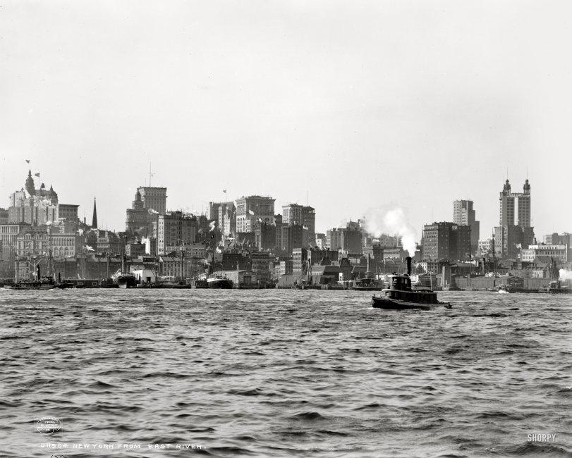Twin Towers: 1900