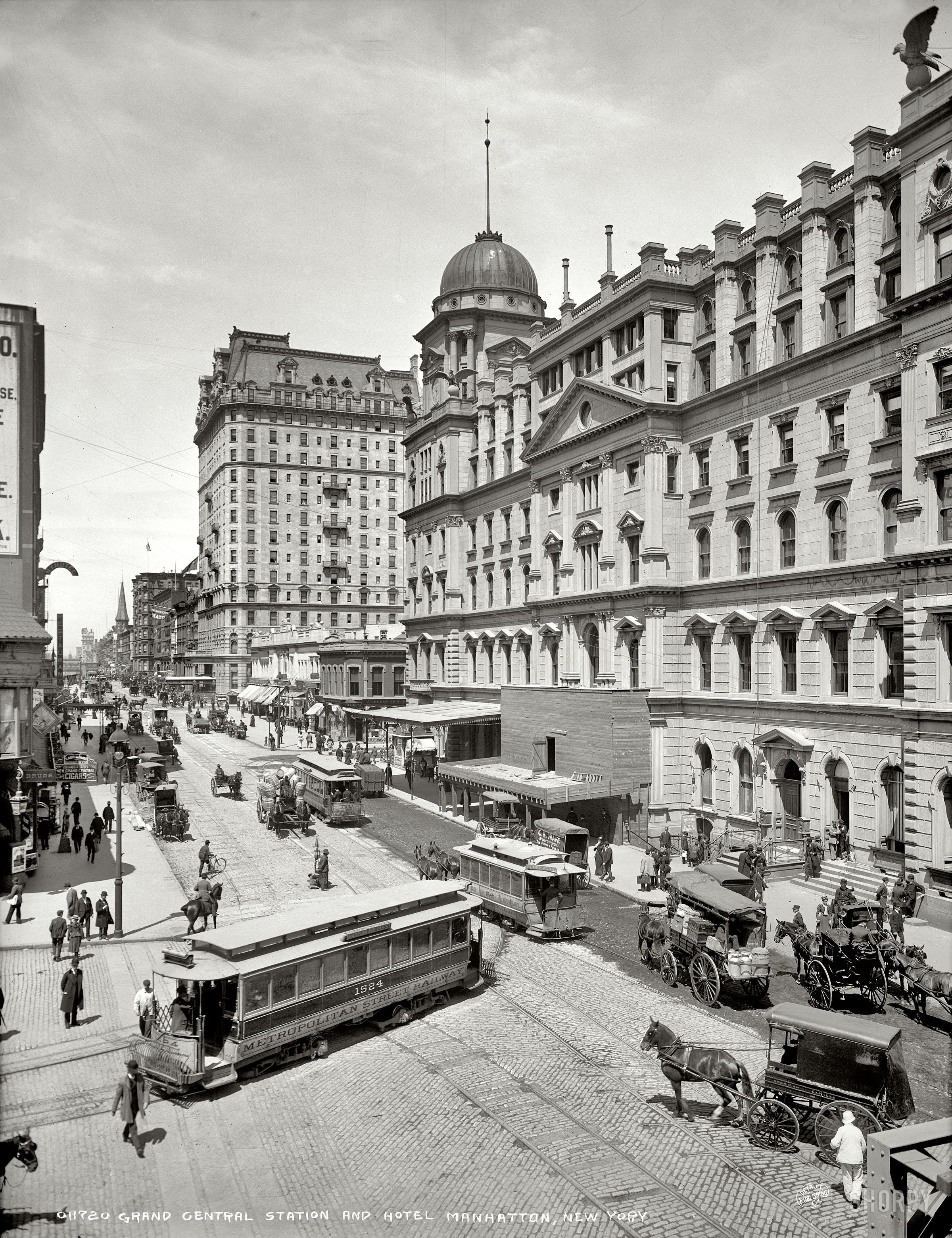 Подборка фотографий крупнейших американских городов, сделанных около