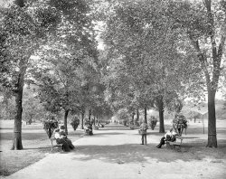 A Walk in the Park: 1900