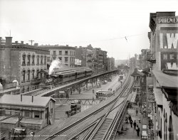 The Bowery: 1900