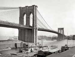 Brooklyn Bridge: 1900