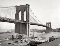 Brooklyn Bridge: 1900