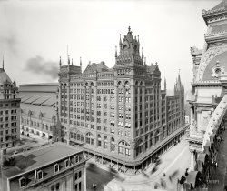 Broad Street Station: 1900