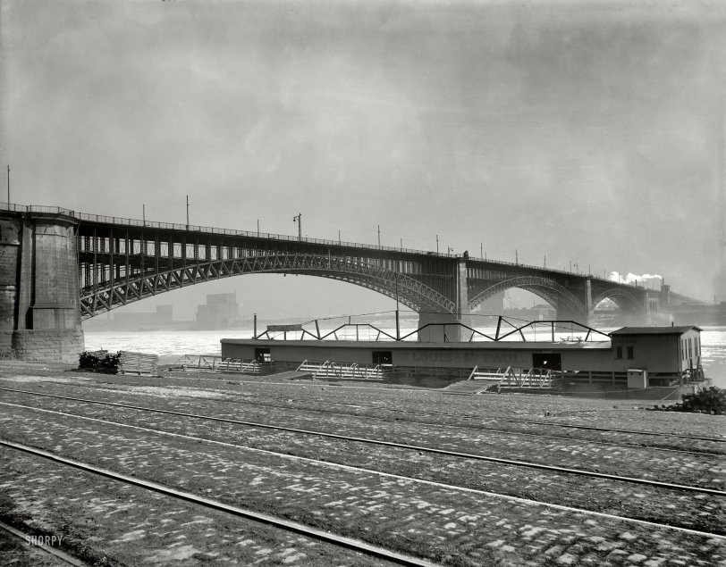 Eads Bridge: 1901