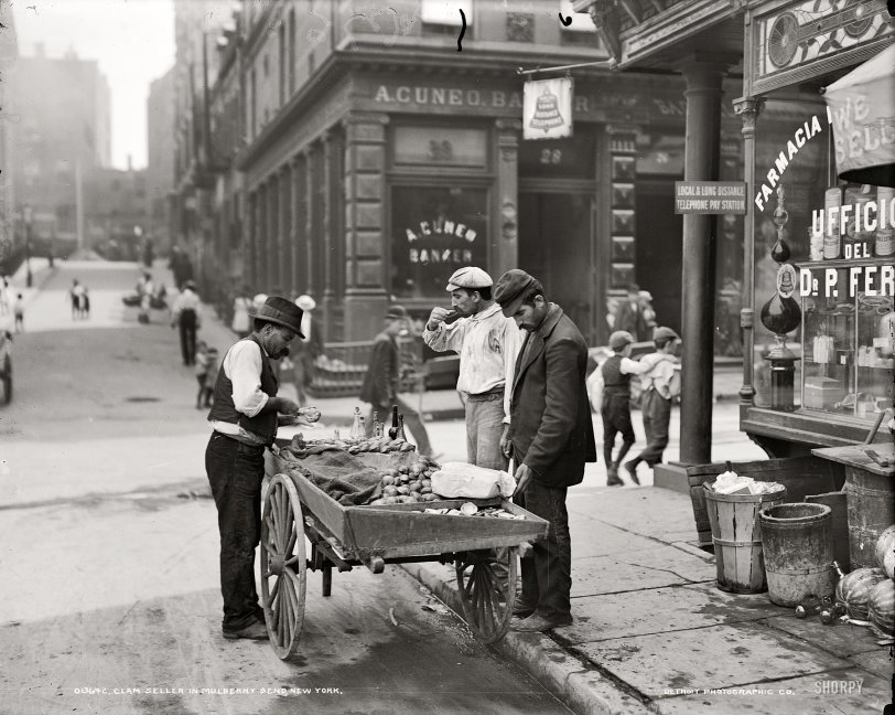 Street Clams: 1900