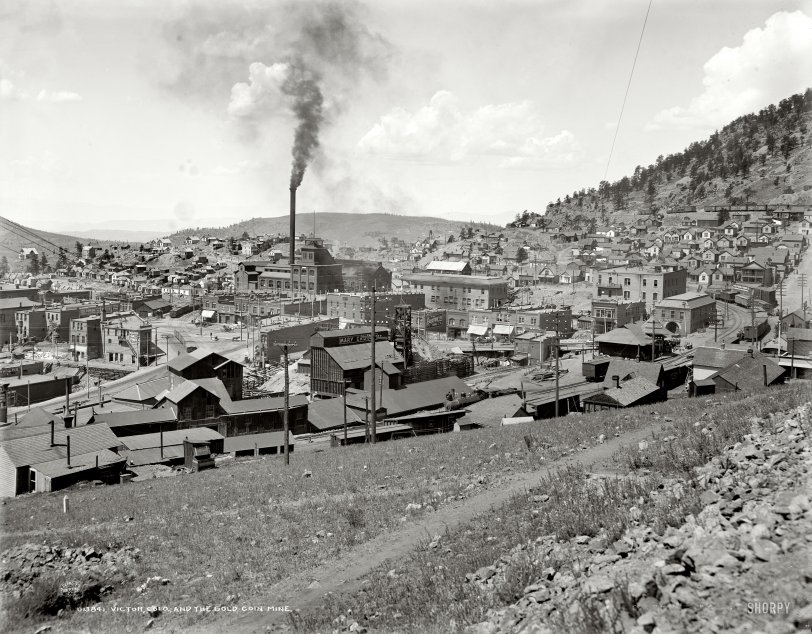 Gold Coin Mine: 1900