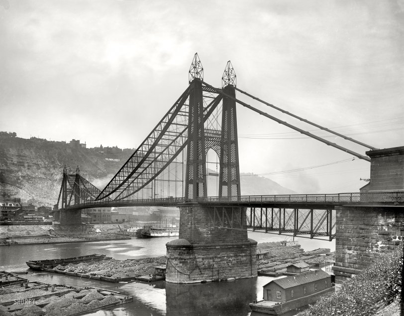 Point Bridge: 1900