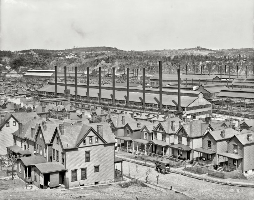 Factory Town: 1910