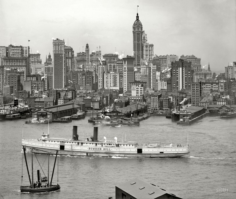 Manhattan: 102 Years Ago
