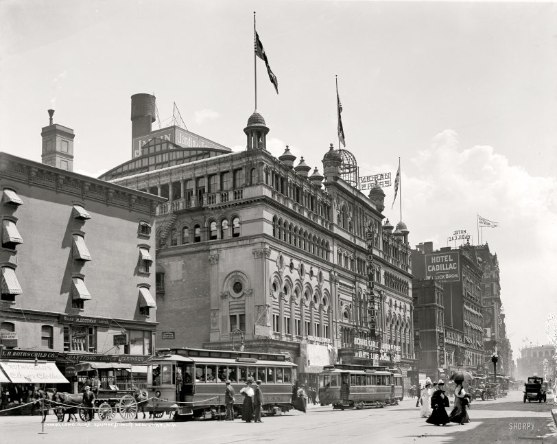 Times Square: 1908