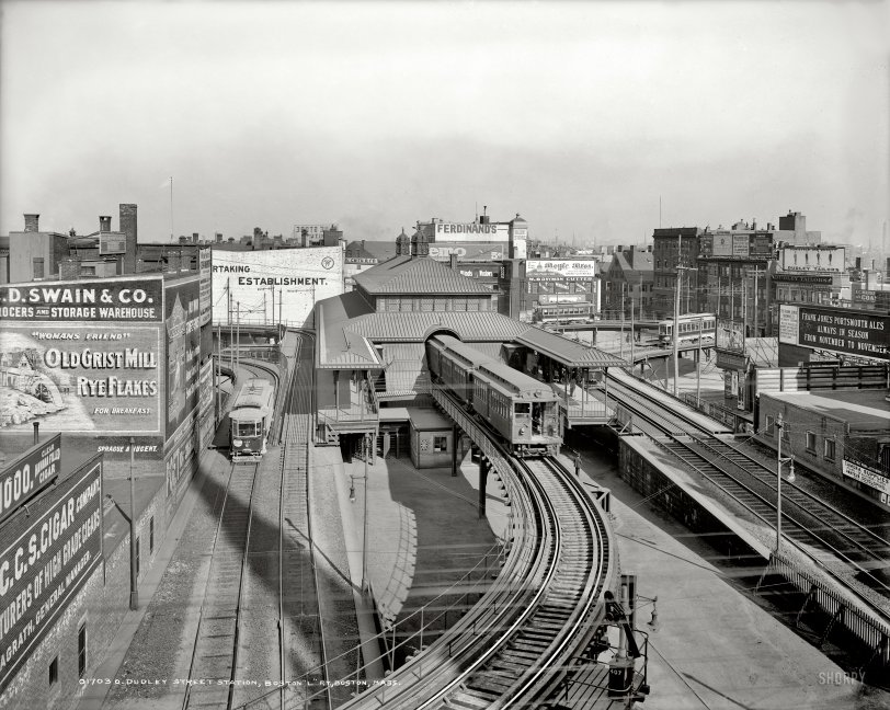 Dudley Street Station: 1904