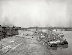 Along the Levee: 1904
