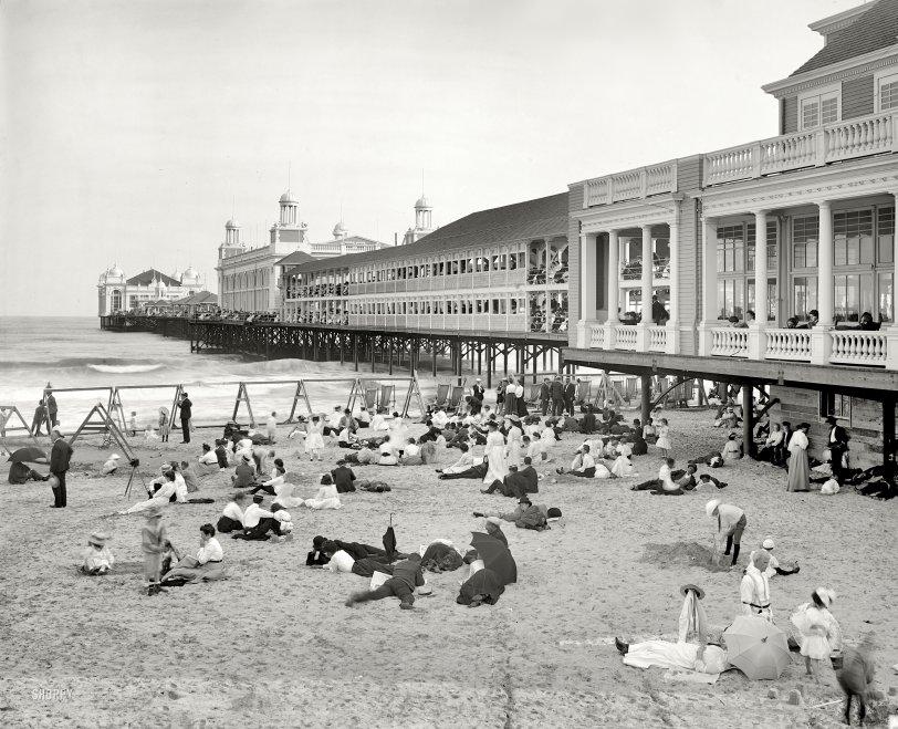 The Steel Pier: 1904