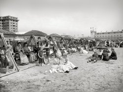Catching Some Rays: 1904