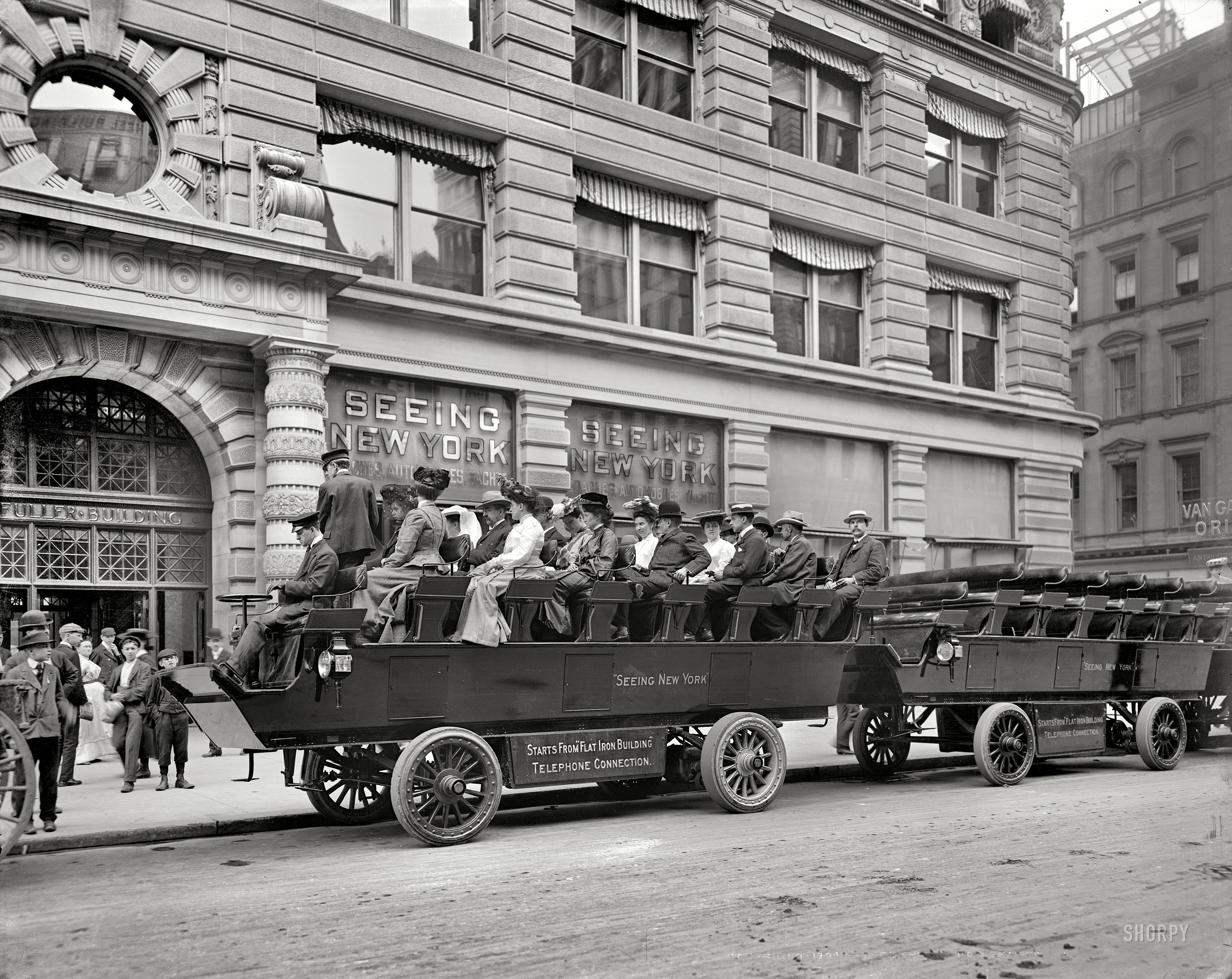 Shorpy Historic Picture Archive :: Seeing New York: 1904 high-resolution  photo
