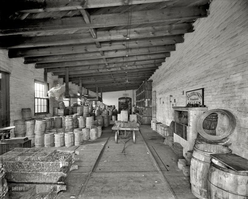 The Storeroom: 1904