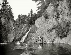 A Swimming Hole: 1904