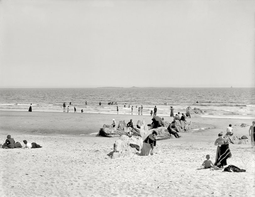 On the Beach: 1904