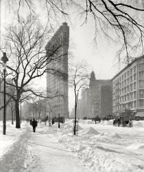 Frosty Flatiron: 1905