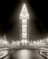 Dreamland at Night: 1905