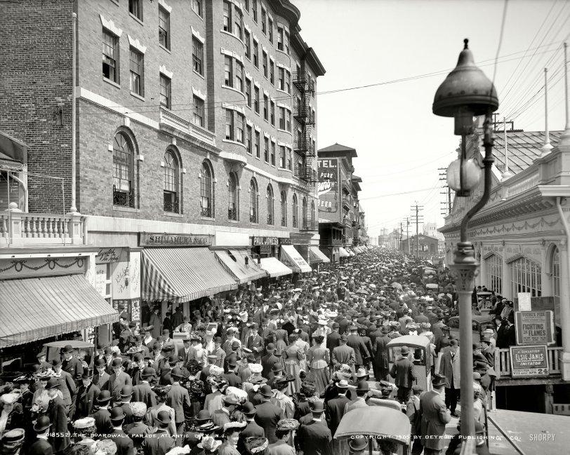 The Boardwalk: 1905