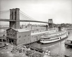 Brooklyn Bridge: 1905
