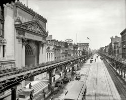 The Bowery: 1905