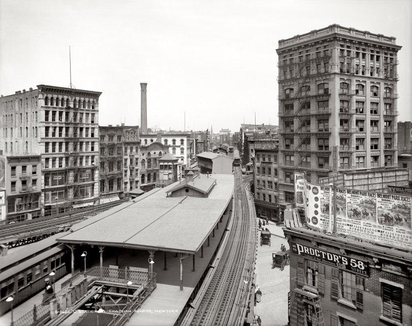 Chatham Square: 1905