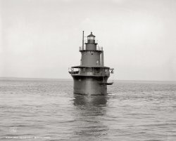 Deer Island Light: 1906