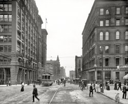 The Busy Corner: 1906