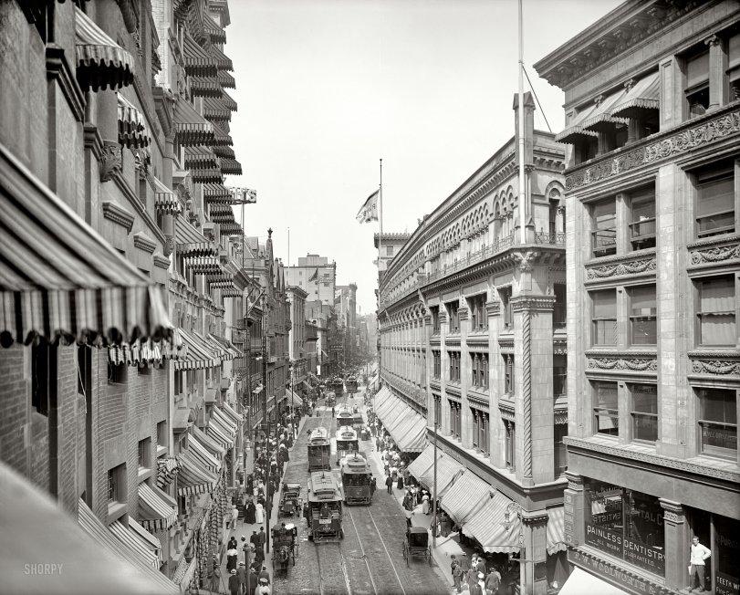 Awning Chasm: 1906