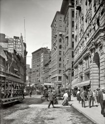 Newspaper Row: 1906