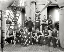 Navy Oarsmen: 1896