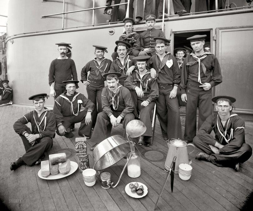 Navy Cooks: 1897