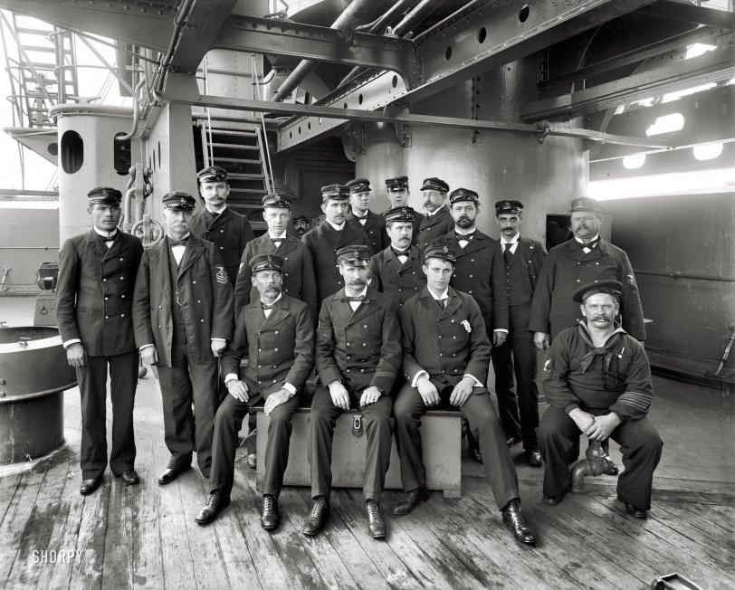 Battleship Texas: 1900