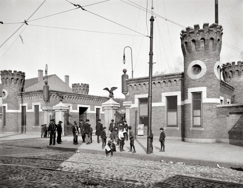 Navy Yard Newsies: 1903