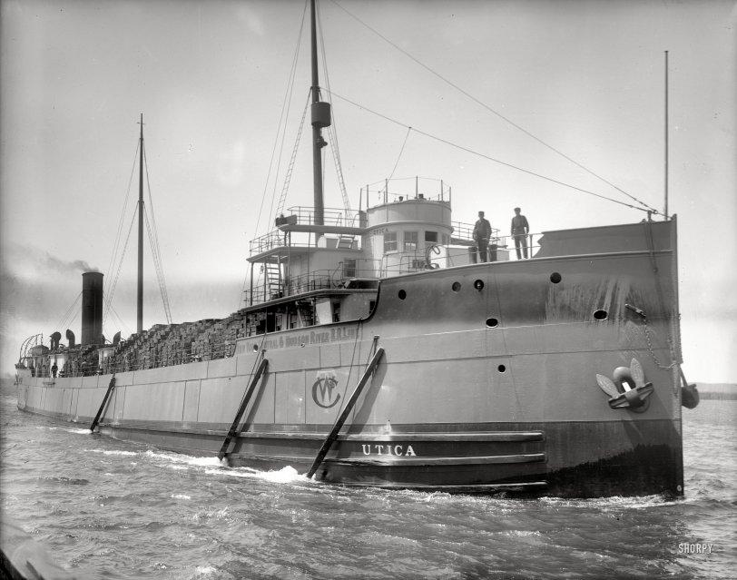 S.S. Utica: 1910