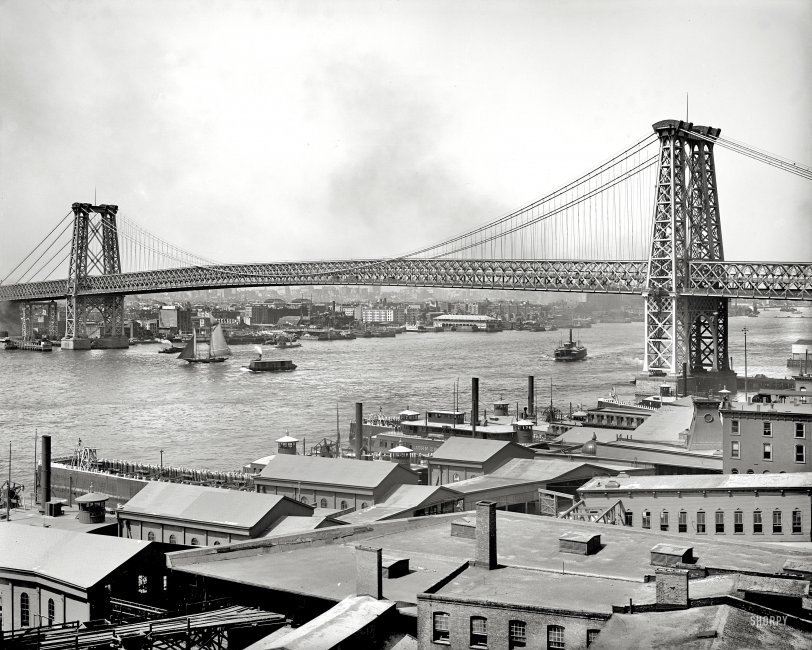 Williamsburg Bridge: 1904